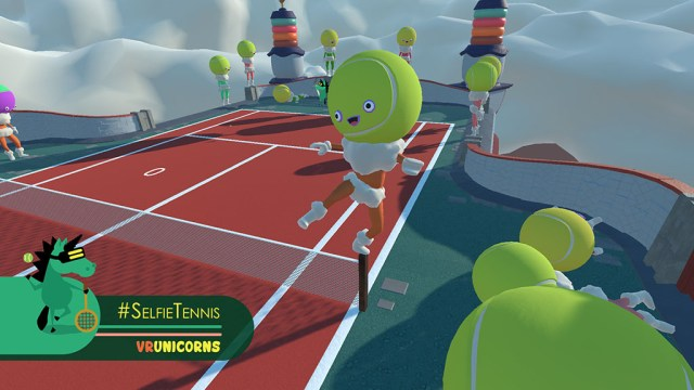 #SelfieTennis-screen2