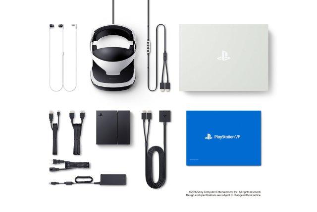 Комплектация шлема Playstation VR цена