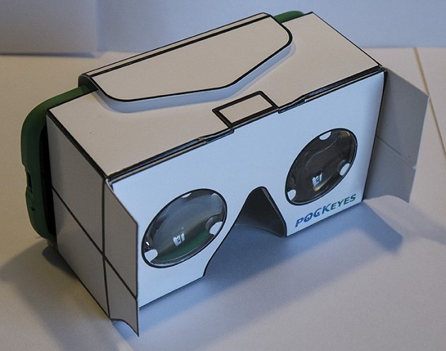 шлем виртуальной реальности POCKEYES