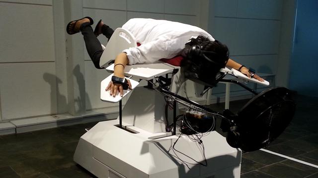 Аттракцион виртуальная реальность птица