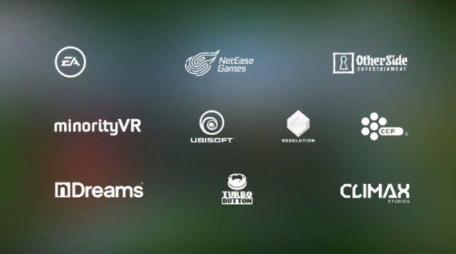 Игровые компании поддержавшие Daydream
