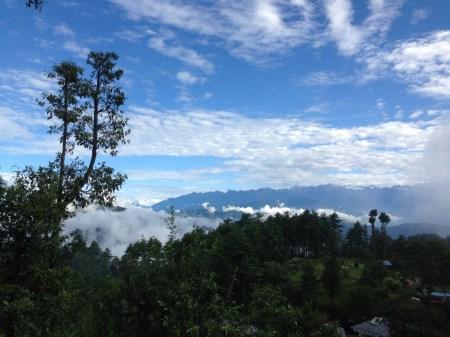 Pagi di Nagarkot
