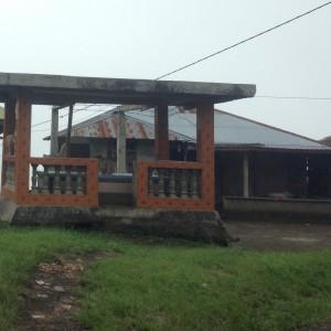 Salah satu rumah penduduk