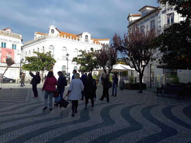 Jalutuskäigul Leirias.