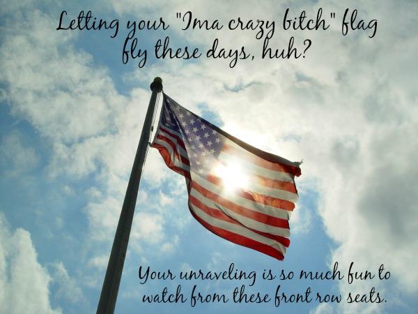 Bitch flag