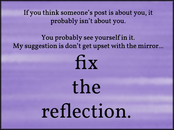 fixthereflection