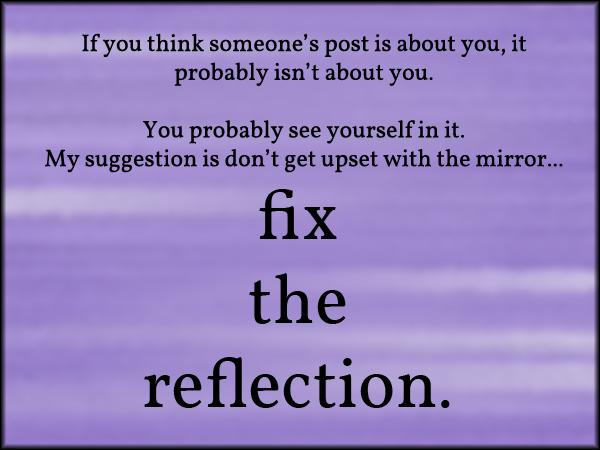fixthereflection