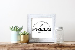 Logo for Freds restaurant