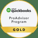 QBO Certified ProAdvisor logo gold