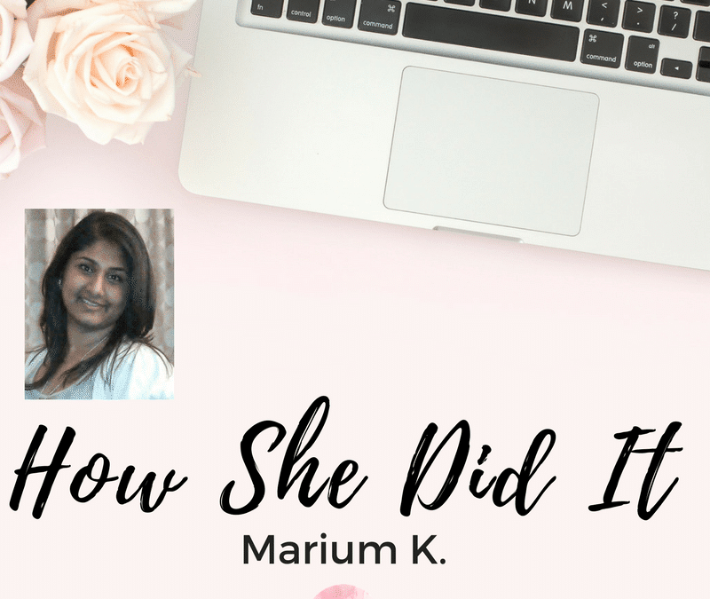 How Marium Became a Virtual Assistant