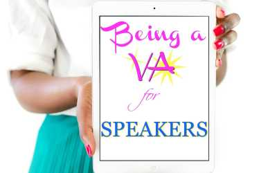 Virtual Assisting For A Speaker