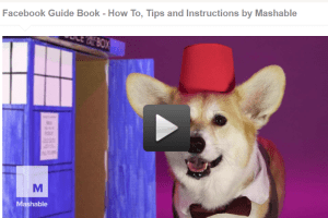 Facebook Guide Book - How To, Tips and Instructions by Mashable