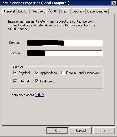 SNMP Service Agent