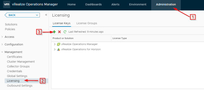 Monitoring VMware Horizon with vRealize Operations Manager
