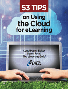 53 Tips on Using the Cloud for eLearning Booklet Icon