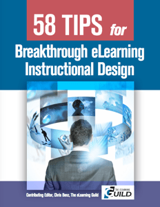 58 Tips for Breakthrough eLearning Instructional Design Booklet Icon