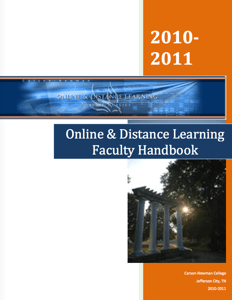 Carson-Newman College, Online and Distance Learning Faculty Handbook Icon