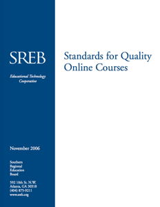 Standards for Quality Online Courses Icon