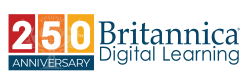 Logo 250° Aniversario Britannica Digital Learning
