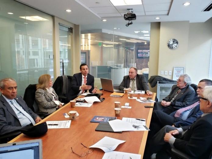 Reunión del grupo de trabajo de Virtual Educa en las oficinas de Virtual Educa, Washington DC