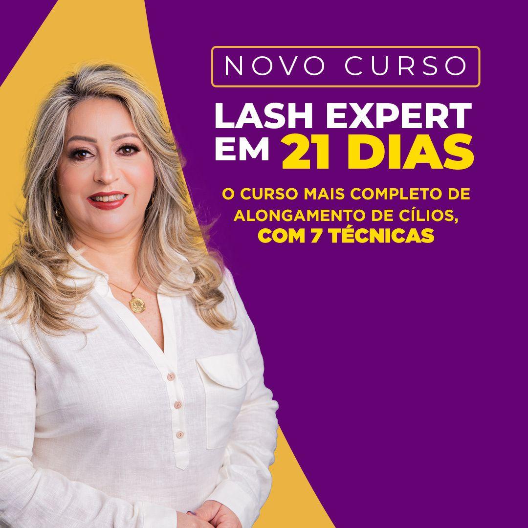 curso lash expert em 21 dias