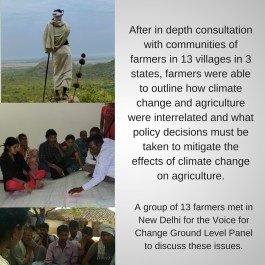 Consultation with farmers