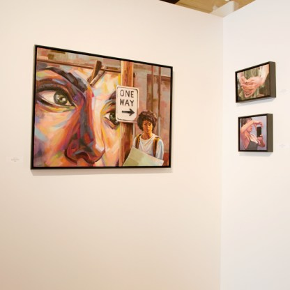 Paintings by Adrienne Dagg, Installation View at Sivarulrasa Gallery