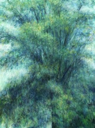 Painting by Barbara Gamble at Sivarulrasa Gallery