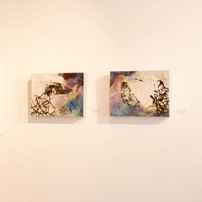 Paintings by Carol Bajen-Gahm, Installation View at Sivarulrasa Gallery
