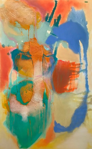 Painting by Sarah Anderson at Sivarulrasa Gallery