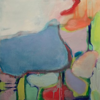 Painting by Sarah Anderson at Sivarulrasa Gallery