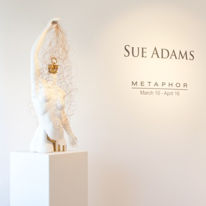 Sculpture by Sue Adams at Sivarulrasa Gallery