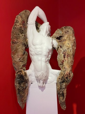 Sue Adams sculpture at Sivarulrasa Gallery