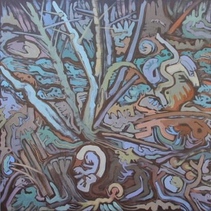 Painting by Susan Took at Sivarulrasa Gallery