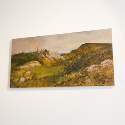 Painting by George Horan, Installation View at Sivarulrasa Gallery