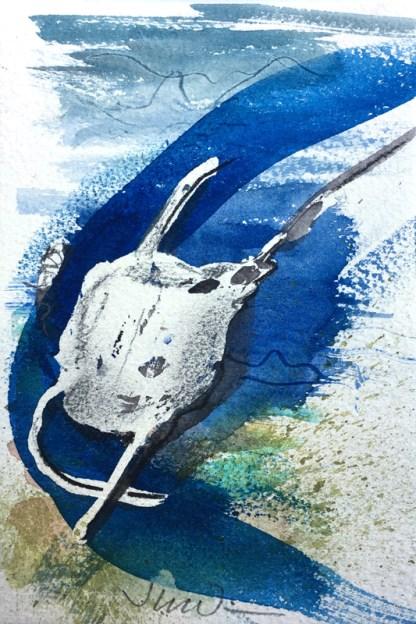 Painting by Jane Irwin at Sivarulrasa Gallery