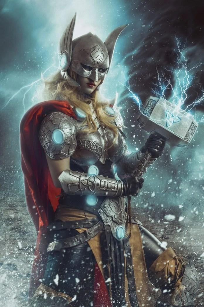 Lady Devilrose Thor Marvel Cosplay