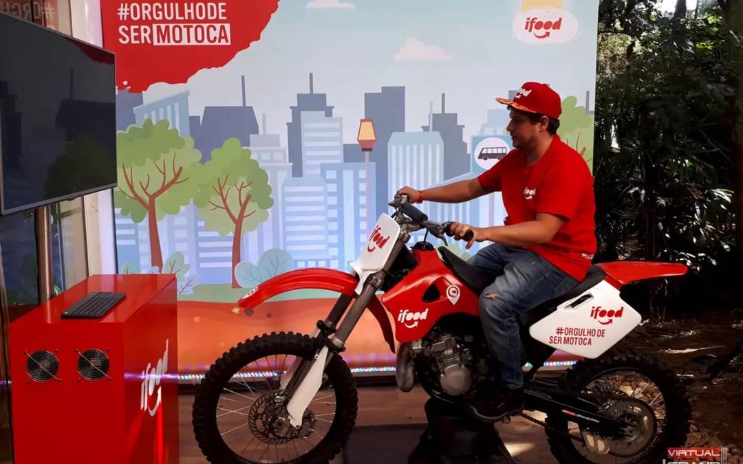 Simulador de Moto iFood @ Orgulho de ser Motoca / SP