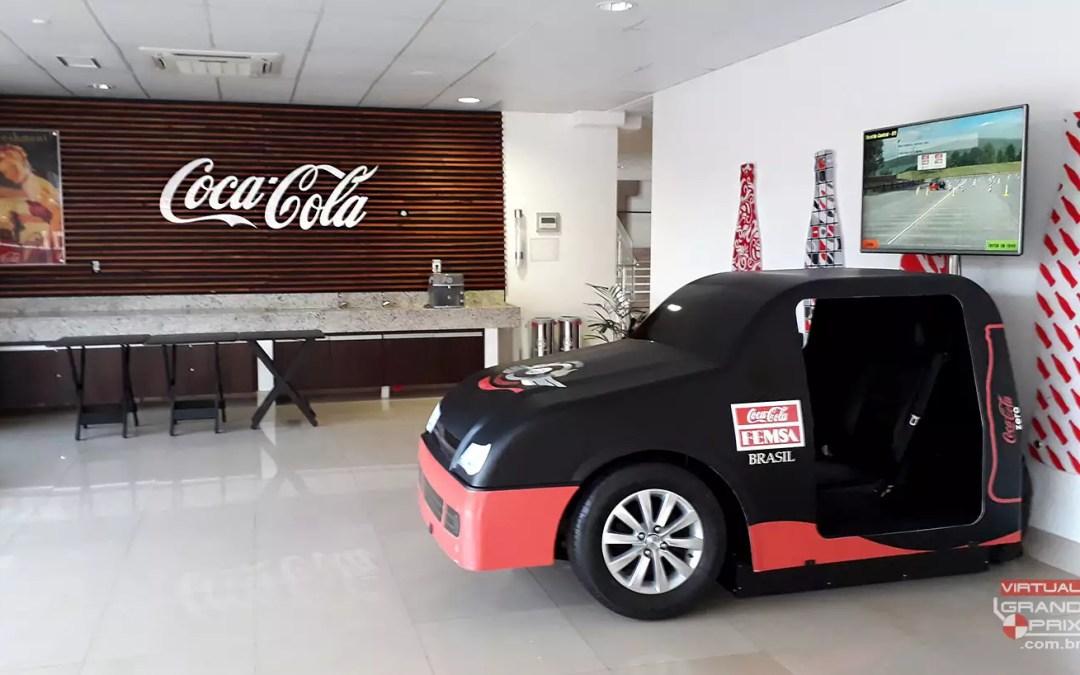 Simulador Real Car Coca-Cola @ SIPAT 2018 / Itabirito MG