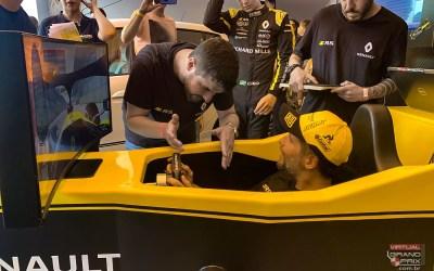 Simulador F1 MOTION Renault @ Senna Tribute