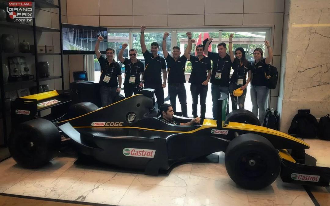 Simulador F1 max Castrol @ GP Brasil F1