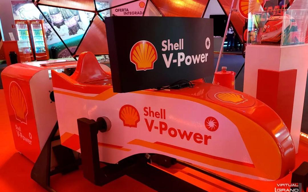Cockpit Motion PRO V-Power @ Convenção Raízen