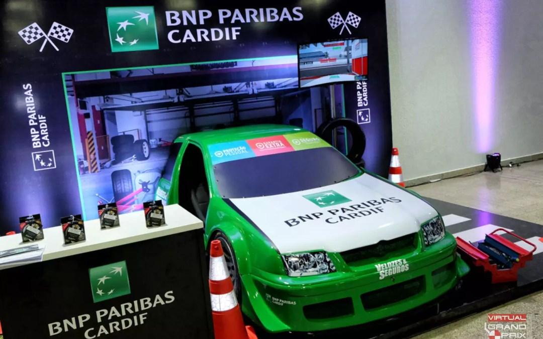 Simulador Stock-Car BNP Paribas @ Maratona Fujioka