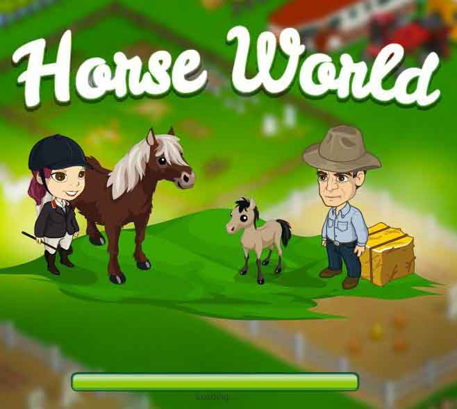 Horse World Game For FacebookHorse Games