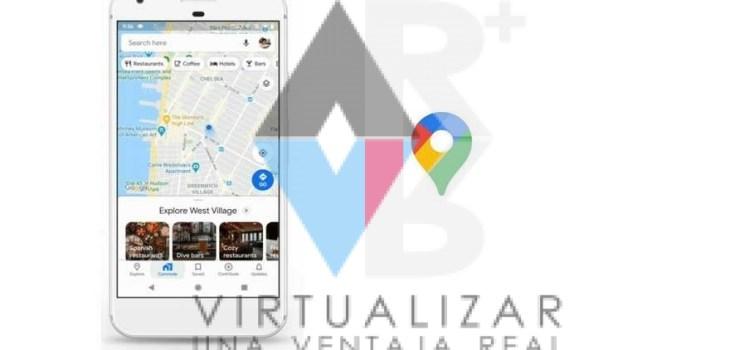 , Google Maps se renueva: ahora suma realidad aumentada para que encuentres todo lo que buscás – Virtualizar realidad aumentada Chile, Realidad Virtual y Realidad aumentada - Virtualizar -  Chile, Realidad Virtual y Realidad aumentada - Virtualizar -  Chile