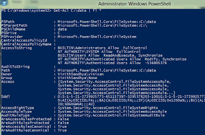 Set Permissions on a File or Directory using PowerShell