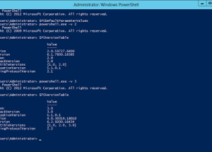 Switching Over From PowerShell V2 to V3 in Same PowerShell Console