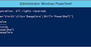 Ordered Hash Tables in Windows PowerShell V3.
