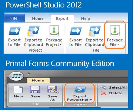 Building GUI for PowerShell Scripts using PowerShell Studio