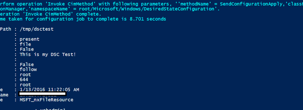 Managing Linux with PowerShell DSC